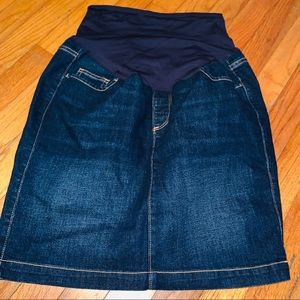 2c81b9eedaeca Women Maternity Denim Skirt on Poshmark